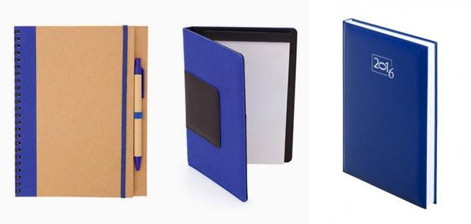 Agendas y cuadernos de notas como artículos publicitarios