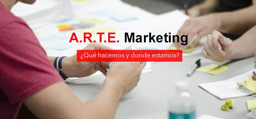 Explicación sobre lo que hace Arte Marketing en el campo de la publicidad promocional