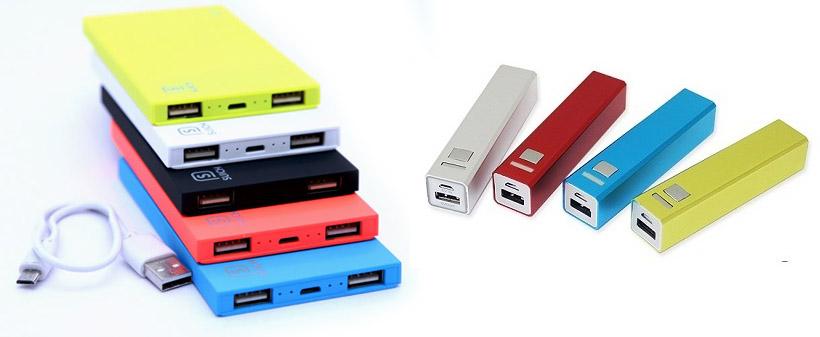 Powerbanks - Baterias portátiles como artículos publicitarios