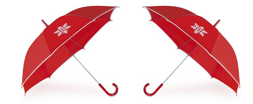 Paraguas como artículo promocional