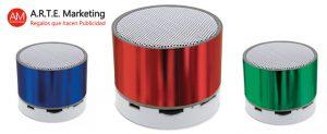 Altavoces Bluetooth como regalo promocional