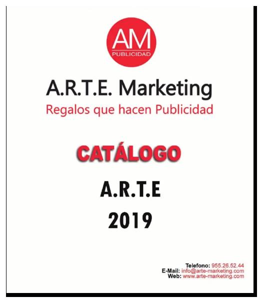 Portada catalogo ARTE 2019 Arte Marketing